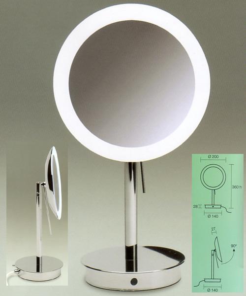 Kosmetikspiegel beleuchtet, Standspiegel, Art.Nr.: 99851