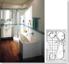 Konzeptlösungen für das kleine Bad.