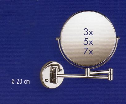 Kosmetikspiegel Art.Nr.: 9001735, Vergrößerung 3x, 5x oder 7x