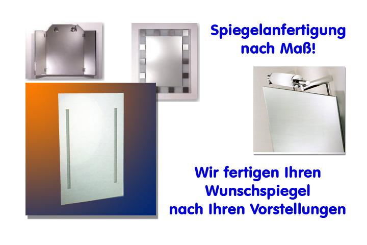 Badspiegel nach Mass - Bavaria Bäder-Technik München