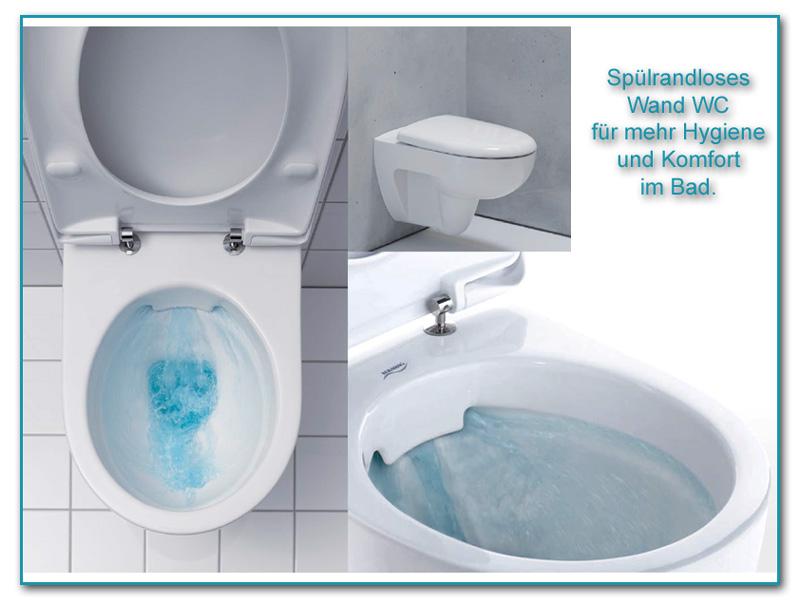 WC spülrandlos