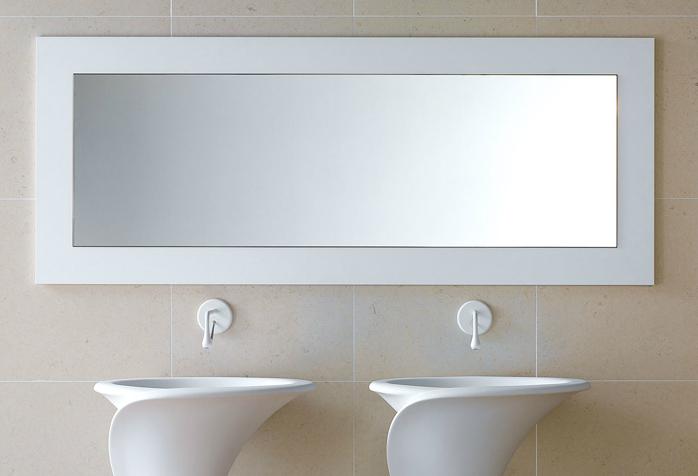 Badspiegel nach mass bavaria b der technik m nchen - Spiegel mit spiegelrahmen ...