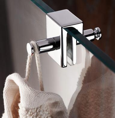Doppelhaken für die Dusche