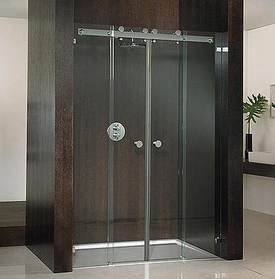 Duschtüre für die Dusche in der Nische