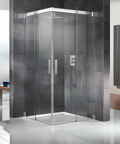 Duschkabine mit Schiebetüren