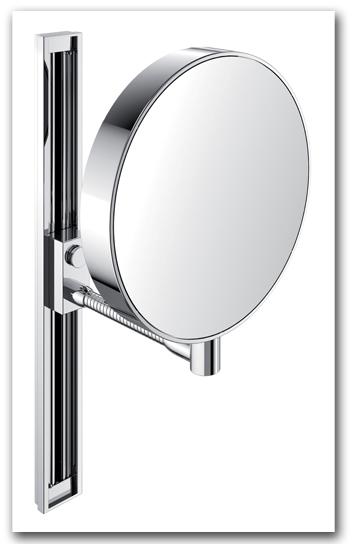 Kosmetikspiegel höhenverstellbar mit 3-fach und 7-fach Vergrösserung Art.Nr.: 2871 GI