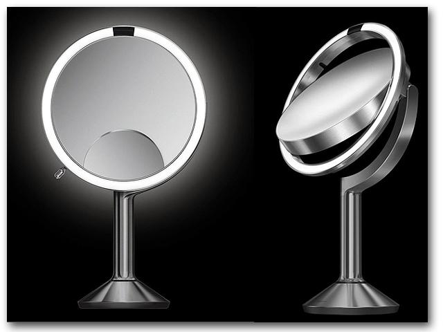 Kosmetikspiegel zum Stellen mit 5-fach und 10-fach Vergrösserung Art.Nr.: HS5056