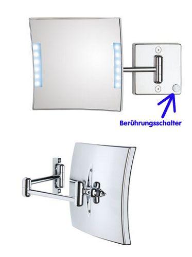 Kosmetikspiegel beleuchtet LED, Art.Nr.: 9061