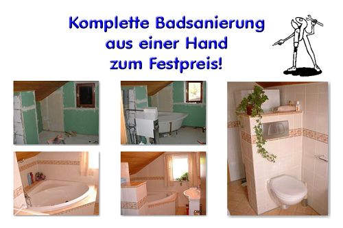 Badrenovierung in m nchen bavaria b der technik for Badsanierung aus einer hand