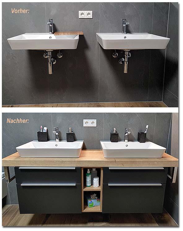 Badmöbel - Unterschränke für Waschbecken